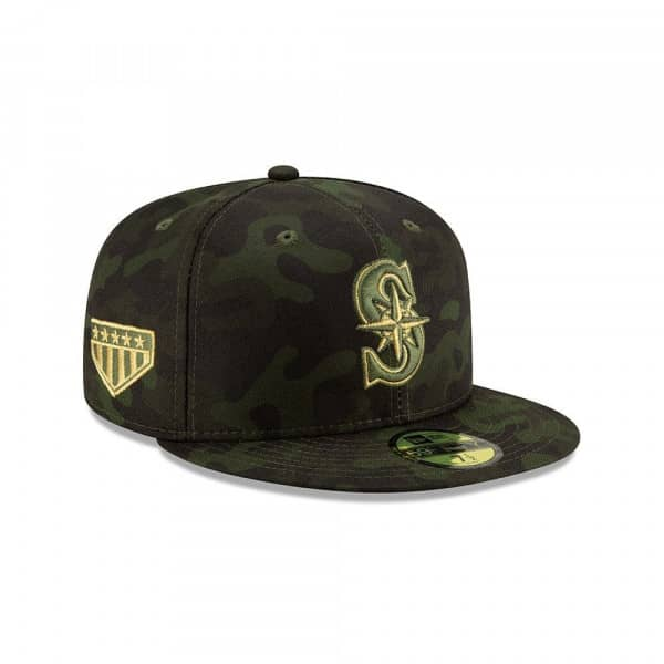 Seattle Mariners 2019 Armed Forces Day On-Field 59FIFTY MLB Cap