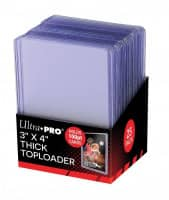 "Ultra Pro Toploader 3 x 4"" Thick Cards - 100pt"