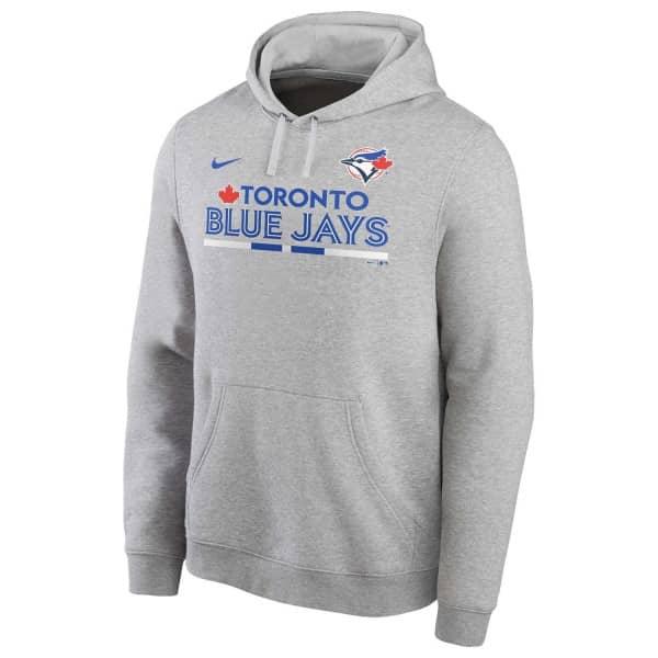 Toronto Blue Jays Color Bar Nike Club Fleece MLB Hoodie