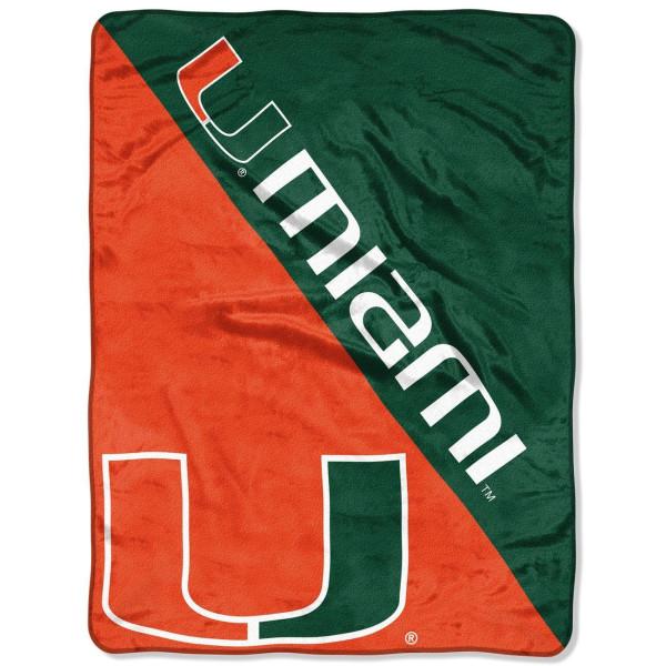 Miami Hurricanes Super Plush NCAA Decke
