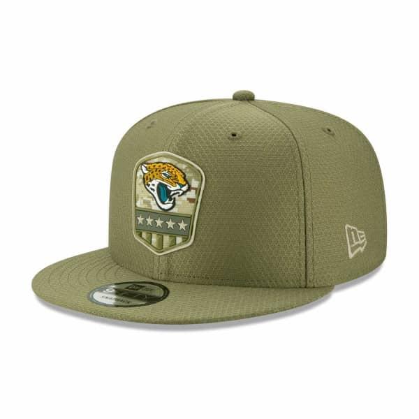 Jacksonville Jaguars 2019 On-Field Salute to Service 9FIFTY Snapback NFL Cap