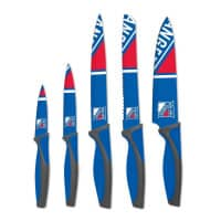 New York Rangers NHL 5-teiliges Küchenmesser Set