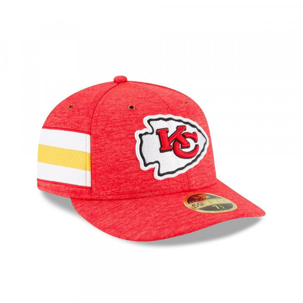 check out 8e7c2 76e9d New Era Kansas City Chiefs 2018 NFL Sideline Low Profile 59FIFTY Cap Home    TAASS.com Fan Shop