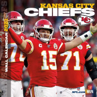 Kansas City Chiefs 2021 Team NFL Wandkalender