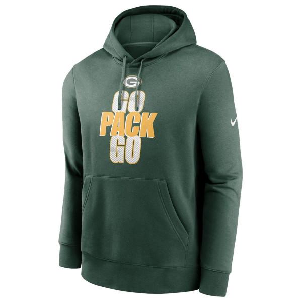 Green Bay Packers NFL Local Nike Club Fleece Hoodie