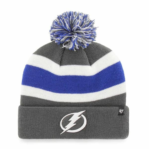 Tampa Bay Lightning Charcoal Breakaway NHL Wintermütze
