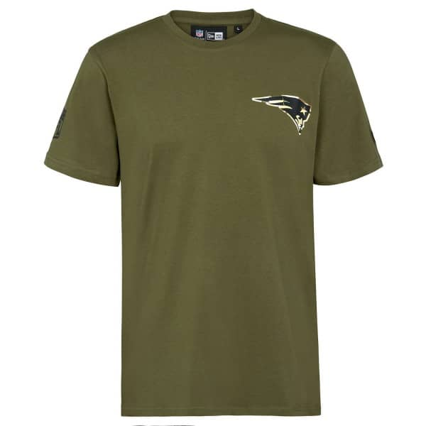 New England Patriots Digital Camo New Era NFL T-Shirt