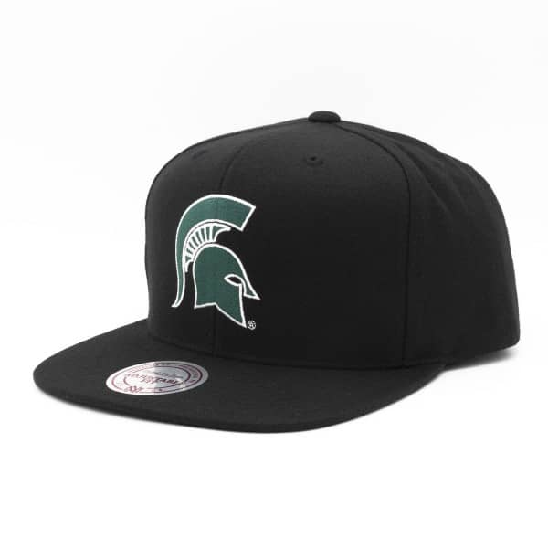 Michigan State Spartans Wool Solid Snapback NCAA Cap