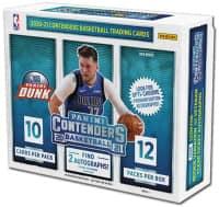 2020/21 Panini Contenders Basketball Hobby Box NBA