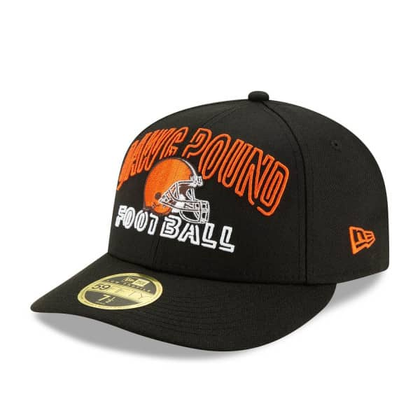 Cleveland Browns 2020 NFL Draft New Era Low Profile 59FIFTY Cap Alternate