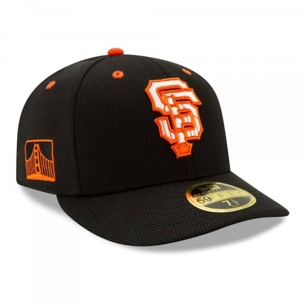 San Francisco Giants 2021 MLB Authentic Batting Practice Low Profile 59FIFTY Fitted Cap