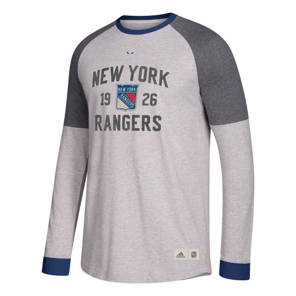 New York Rangers Vintage NHL Long Sleeve Shirt
