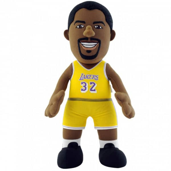 Magic Johnson Los Angeles Lakers NBA Plüsch Figur (25 cm)