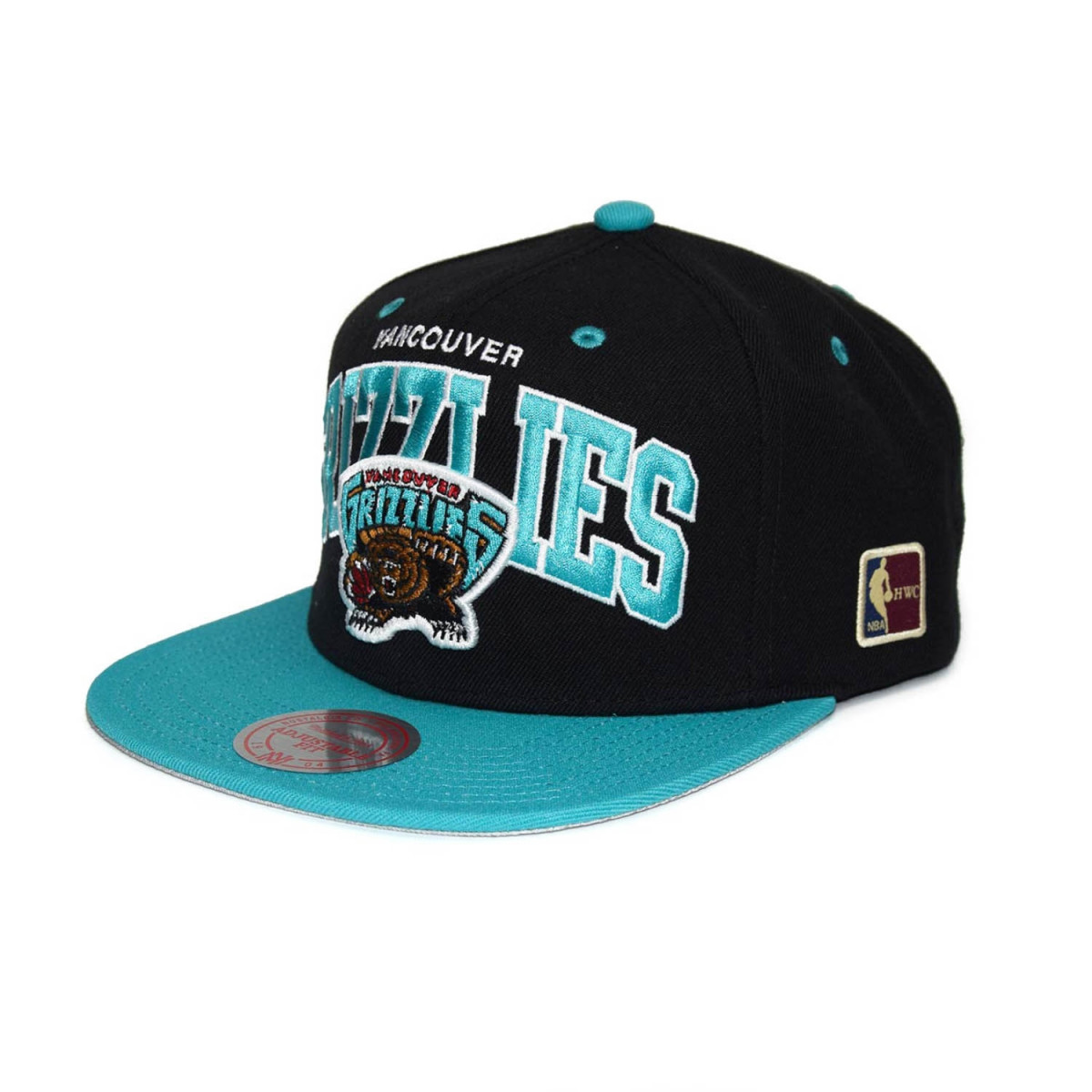 156dc0ef4fa Mitchell   Ness Vancouver Grizzlies Team Arch Snapback NBA Cap  w HWC Patch