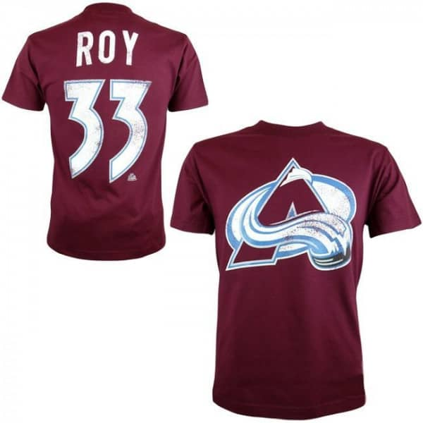 Colorado Avalanche Patrick Roy #33 Alumni Eishockey NHL T-Shirt