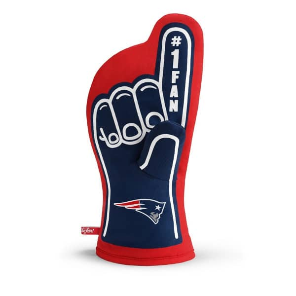 New England Patriots #1 Fan NFL Ofenhandschuh