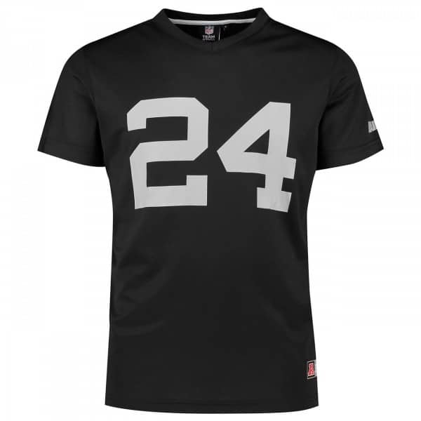 Marshawn Lynch #24 Oakland Raiders Player NFL Mesh T-Shirt