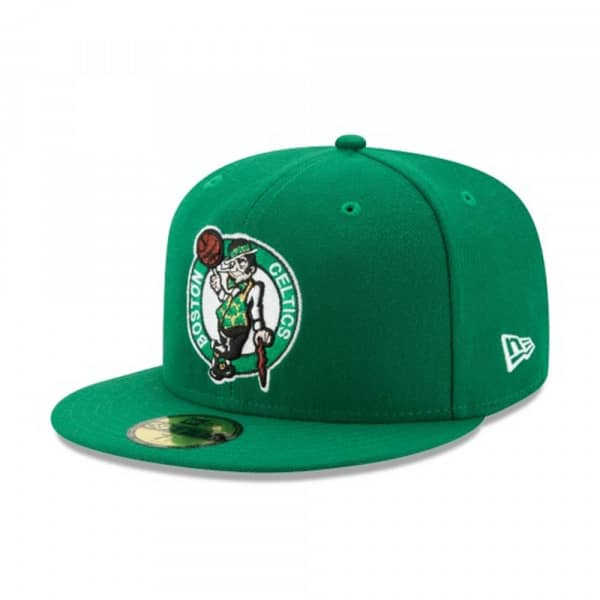 Boston Celtics Primary Logo 59FIFTY Fitted NBA Cap w/ Patch Grün