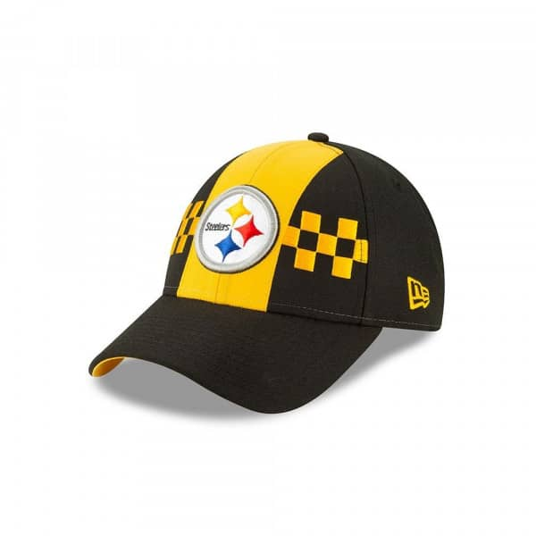 2da7acf391a5e4 New Era Pittsburgh Steelers 2019 NFL Draft 9FORTY Adjustable Cap On-Stage |  TAASS.com Fan Shop