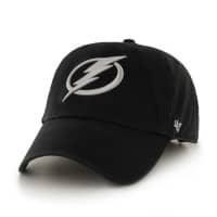 Tampa Bay Lightning Clean Up Adjustable NHL Cap Schwarz
