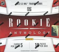 2012/13 Panini Rookie Anthology Hockey Hobby Box NHL
