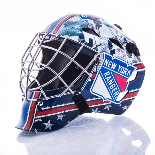 New York Rangers NHL Mini Goalie Mask