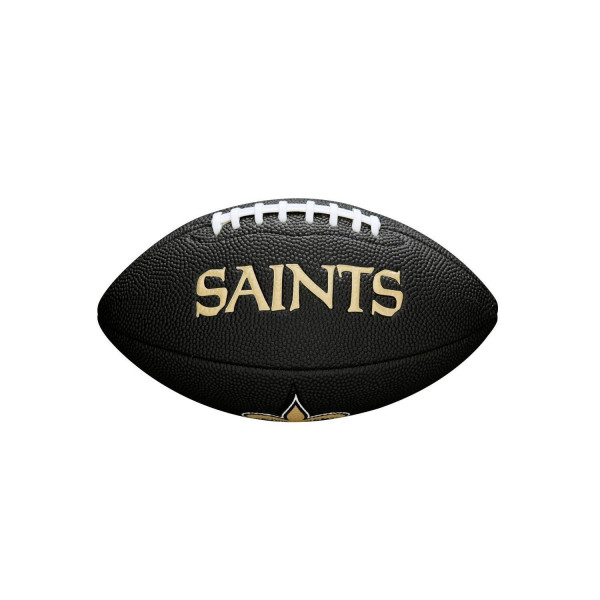 New Orleans Saints NFL Mini Football Schwarz