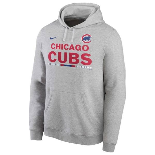 Chicago Cubs Color Bar Nike Club Fleece MLB Hoodie