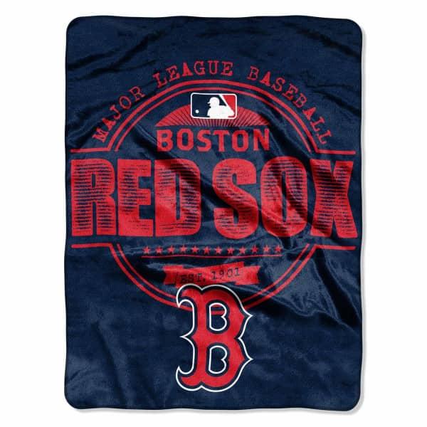 Boston Red Sox Structure Super Plush MLB Decke