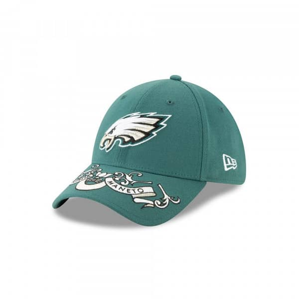 Philadelphia Eagles 2019 NFL Draft On-Stage 39THIRTY Stretch Fit Cap