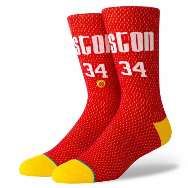 Houston Rockets Hakeem Olajuwon #34 Jersey NBA Socken