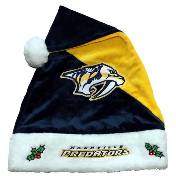 Nashville Predators FOCO Basic Santa NHL Weihnachtsmannmütze