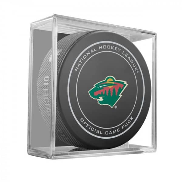 Minnesota Wild NHL Official Game Puck (2018)