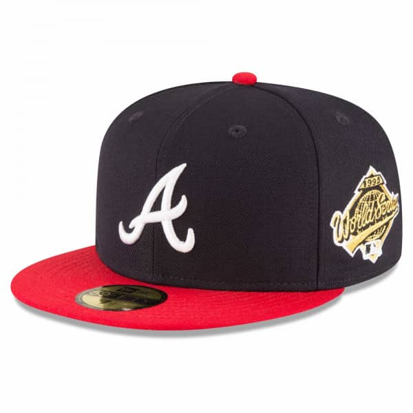 Atlanta Braves 1995 World Series Cooperstown 59FIFTY Fitted MLB Cap