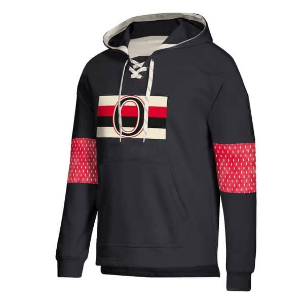 Ottawa Senators Vintage NHL Jersey Hoodie