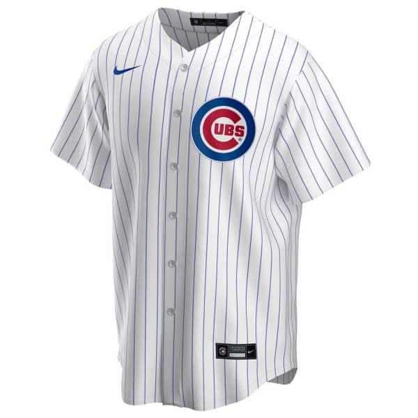Chicago Cubs Nike MLB Replica Home Trikot Pinstripe