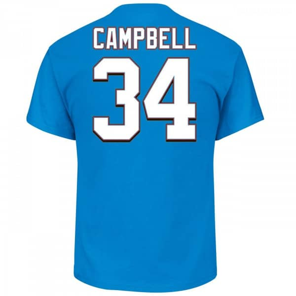 Earl Campbell #34 Houston Oilers Hall of Fame NFL T-Shirt