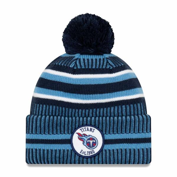 Tennessee Titans 2019 NFL Sideline Sport Knit Wintermütze Home