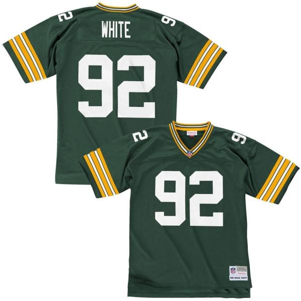 Reggie White #92 Green Bay Packers Legacy Throwback NFL Trikot Grün