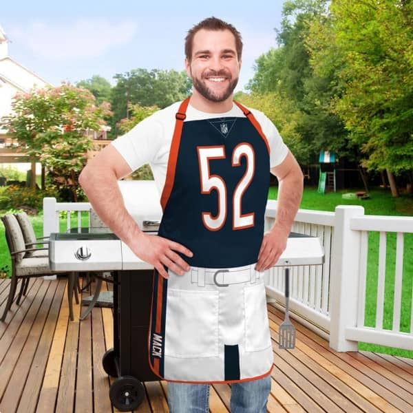 Khalil Mack #52 Chicago Bears NFL Spielerschürze
