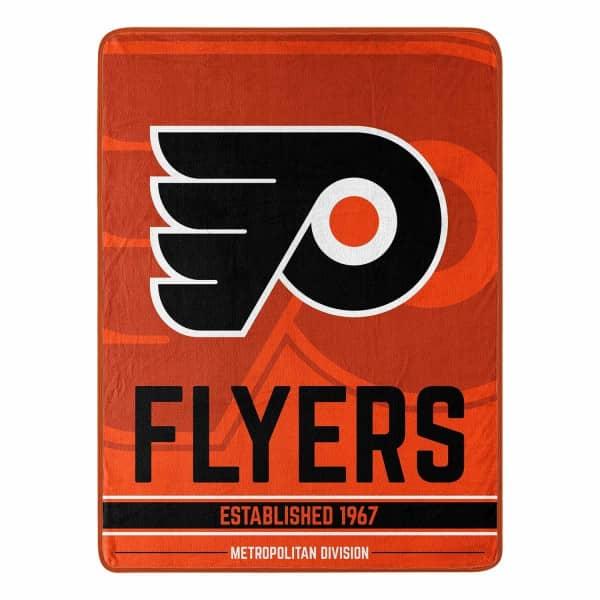 Philadelphia Flyers Breakaway Super Plush NHL Decke