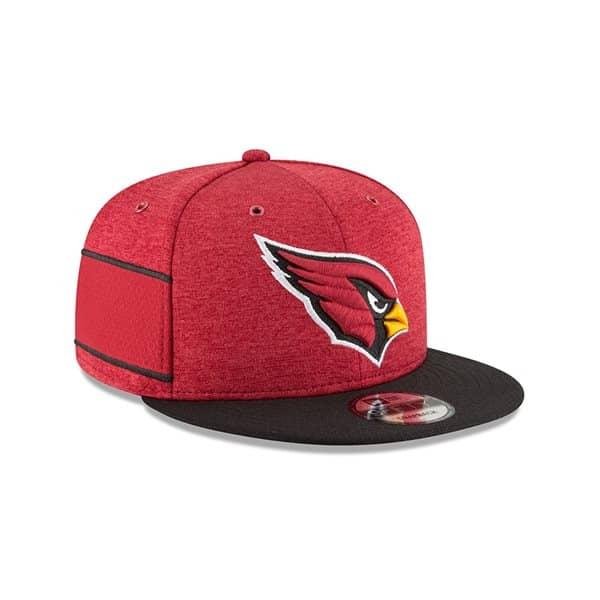 Arizona Cardinals 2018 NFL Sideline 9FIFTY Snapback Cap Home
