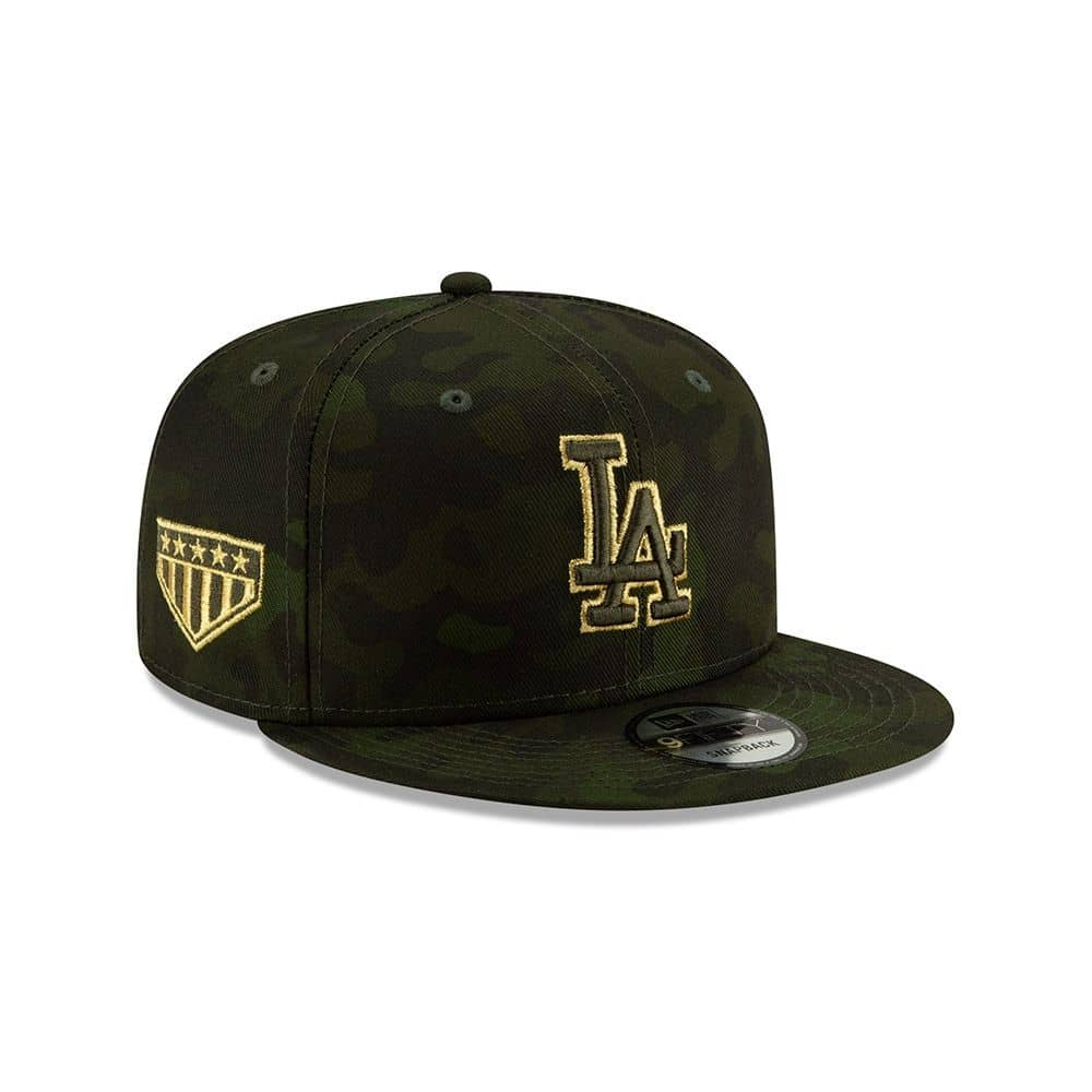 new concept a0ccc 4137b New Era Los Angeles Dodgers 2019 Armed Forces Day 9FIFTY Snapback MLB Cap    TAASS.com Fan Shop