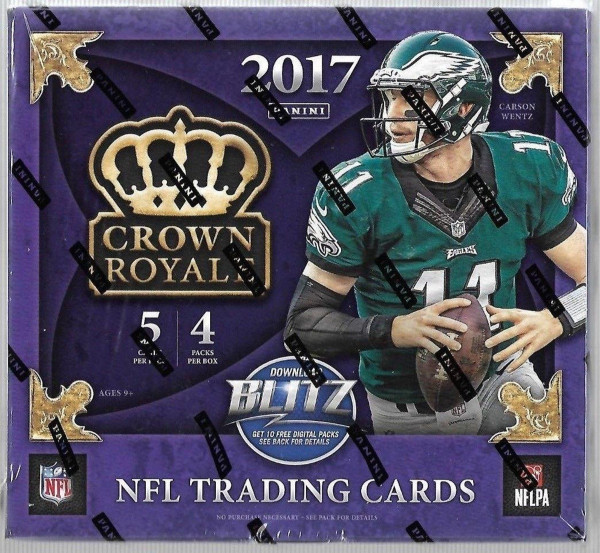 2017 Panini Crown Royale Football Box NFL