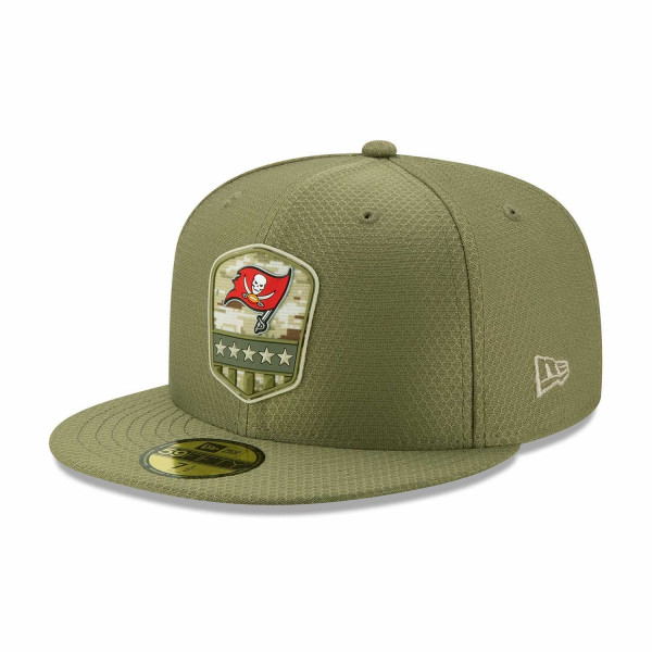 Tampa Bay Buccaneers 2019 On-Field Salute to Service 59FIFTY NFL Cap