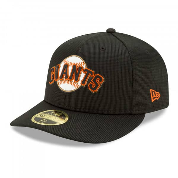 San Francisco Giants 2021 MLB Authentic Clubhouse New Era Low Profile 59FIFTY Cap