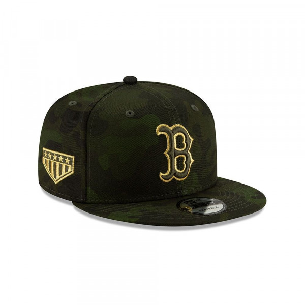 Boston Red Sox 2019 Armed Forces Day 9FIFTY Snapback MLB Cap