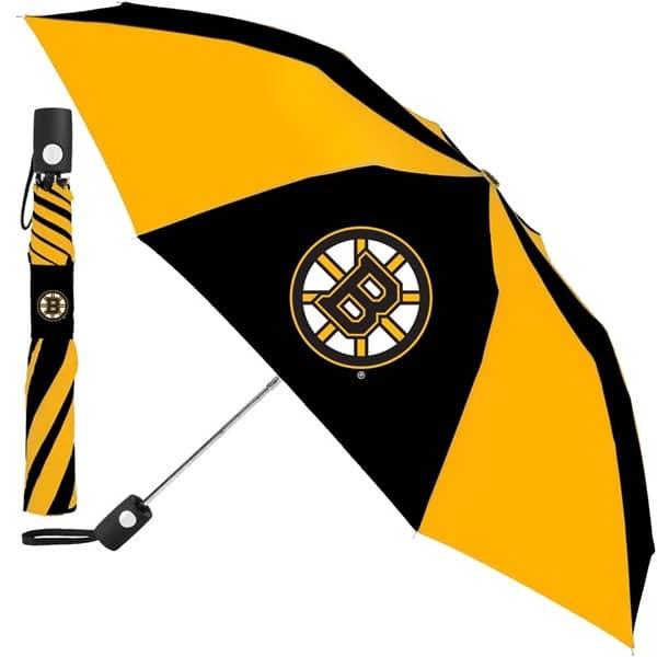 Boston Bruins NHL Regenschirm (Taschenschirm mit Automatik)