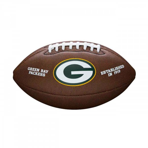 Green Bay Packers Composite Full Size NFL Football