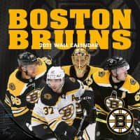 Boston Bruins 2021 Team NHL Wandkalender